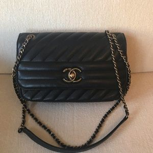750a1a22c958 CHANEL Bags   Authentic Small Diagonal Quilted Flap Bag   Poshmark